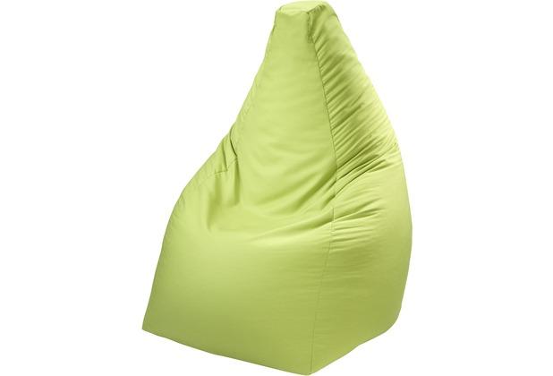 linke licardo Sitzsack, Baumwolle grün 90 cm hoch