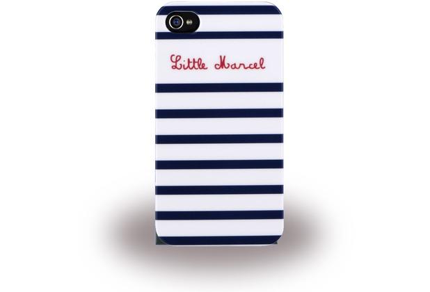 Little Marcel Marin - HardCover für Apple iPhone 6/6S, blau/weiß