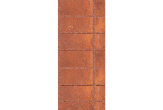 Livingwalls 0200-12 Türtapete Schott Braun Orange