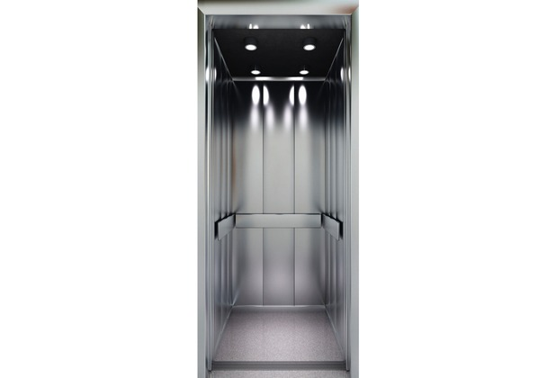 Livingwalls 0200-14 Türtapete Lift Braun Grau