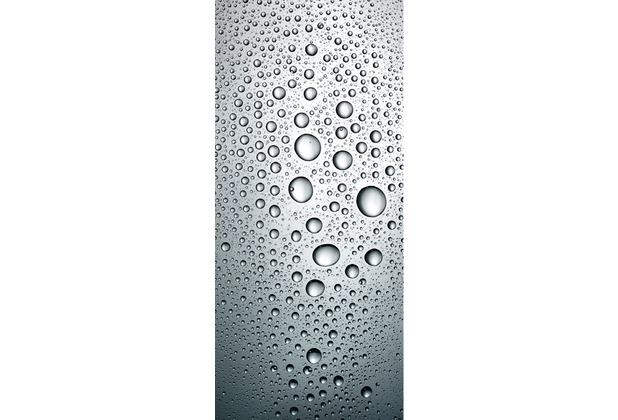 Livingwalls 0200-30 Türtapete Drops Blau Grau