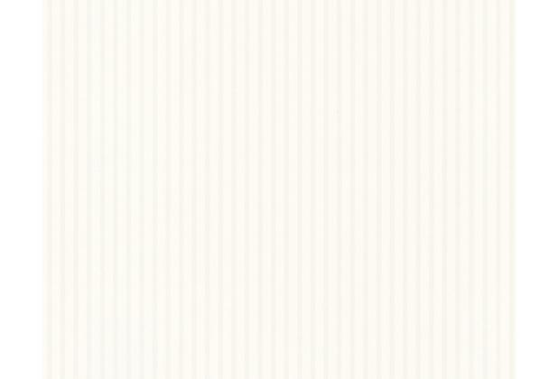 """Livingwalls Flock 3 Streifentapete \""""Straight Lines\"""", Vliestapete, beige, weiss 256218 10,05 m x 0,53 m"""