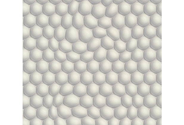 Livingwalls futuristische 3D Tapete Harmony in Motion by Mac Stopa creme grau metallic 327202 10,05 m x 0,53 m
