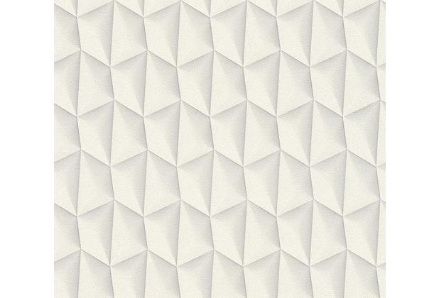 Livingwalls futuristische 3D Tapete Harmony in Motion by Mac Stopa creme grau weiß 327081 10,05 m x 0,53 m