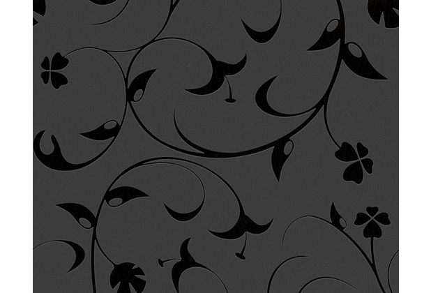 Livingwalls Mustertapete Black & White 3, Vliestapete, schwarz 567123 10,05 m x 0,53 m