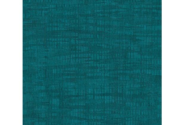 Livingwalls mustertapete in vintage optik revival blau for Schlafzimmer vintage optik