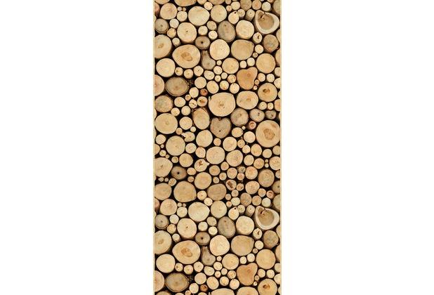 Livingwalls Panel Pop.up Panel 2, beige, braun 300701 2,50 m x 0,35 m
