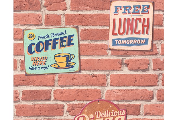 "Livingwalls selbstklebendes Panel \""Pop.up Panel 3D\"", beige, braun, creme 955681 2,50 m x 0,52 m"