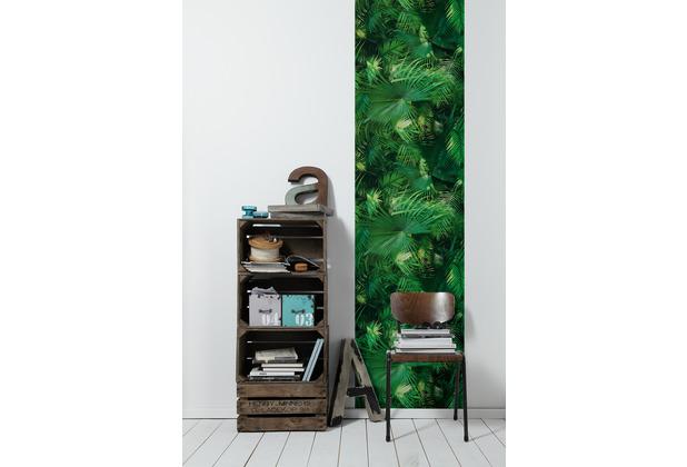 Livingwalls selbstklebendes Panel Pop.up Panel 3D grün 2,50 m x 0,52 m