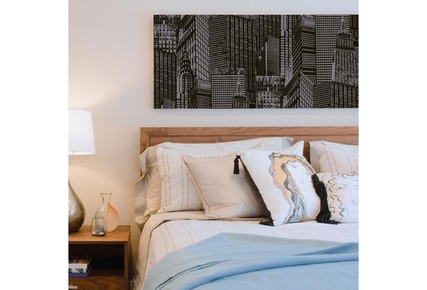 "Livingwalls selbstklebendes Panel \""Pop.up Panel 3D\"", metallic, schwarz 955671 2,50 m x 0,52 m"