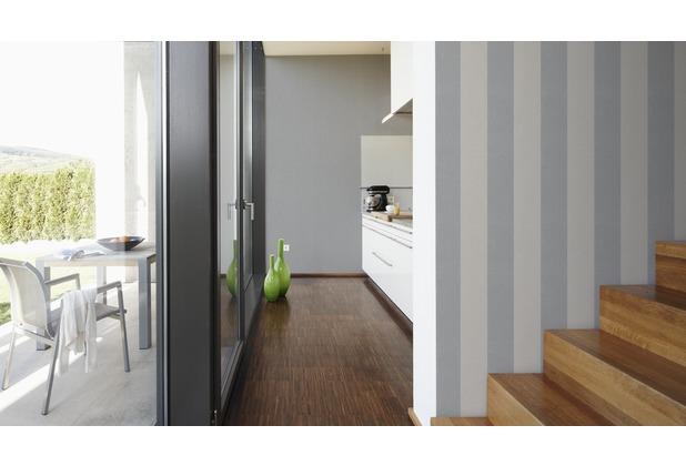 Livingwalls Streifentapete Elegance 2, Vliestapete, beige, grau 181510 10,05 m x 0,53 m