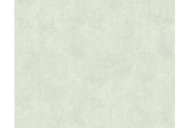 Livingwalls Unitapete Djooz, Papiertapete, weißgrün 956693 10,05 m x 0,53 m