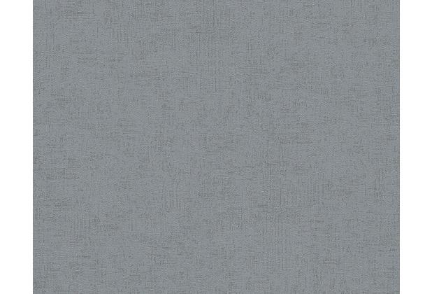 Livingwalls Unitapete Titanium Tapete grau metallic 306462 10,05 m x 0,53 m