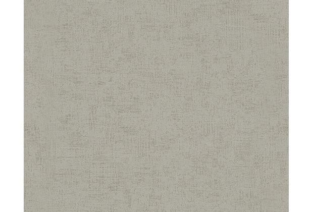 Livingwalls Unitapete Titanium Tapete grau metallic 306464 10,05 m x 0,53 m