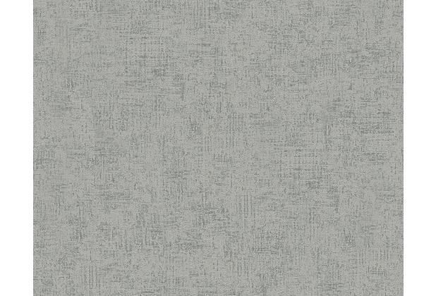 Livingwalls Unitapete Titanium Tapete grau metallic 306465 10,05 m x 0,53 m