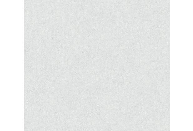 Livingwalls Vliestapete Colibri Tapete Unitapete weiß grau 366289 10,05 m x 0,53 m