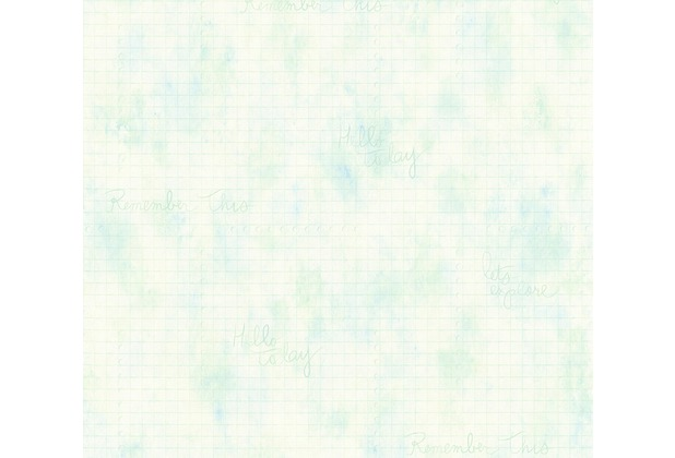 Livingwalls Vliestapete Djooz 2 Tapete blau grün 358721 10,05 m x 0,53 m