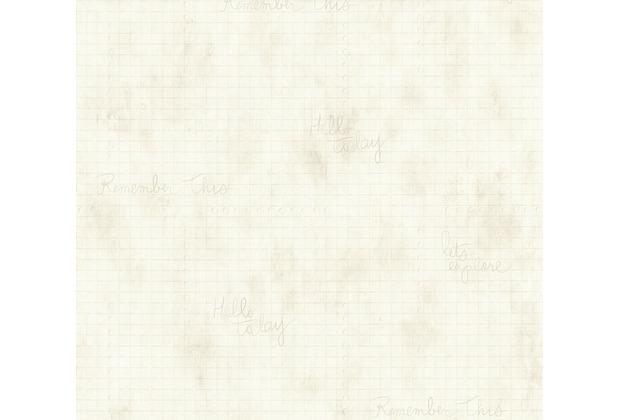 Livingwalls Vliestapete Djooz 2 Tapete creme grau 358722 10,05 m x 0,53 m