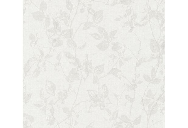 Livingwalls Vliestapete Hygge Tapete floral beige creme grau 363975 10,05 m x 0,53 m