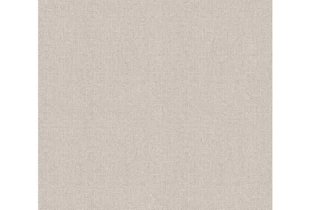 Livingwalls Vliestapete Hygge Tapete Unitapete beige braun 363806 10,05 m x 0,53 m