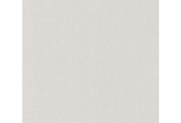 Livingwalls Vliestapete Hygge Tapete Unitapete beige grau 363784 10,05 m x 0,53 m