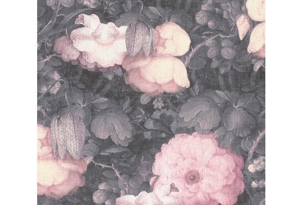 Livingwalls Vliestapete Metropolitan Stories Anke & Daan Amsterdam grau rosa schwarz 369212 10,05 m x 0,53 m