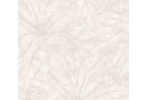 Livingwalls Vliestapete Metropolitan Stories Francesca Milano grau metallic weiß 369274 10,05 m x 0,53 m