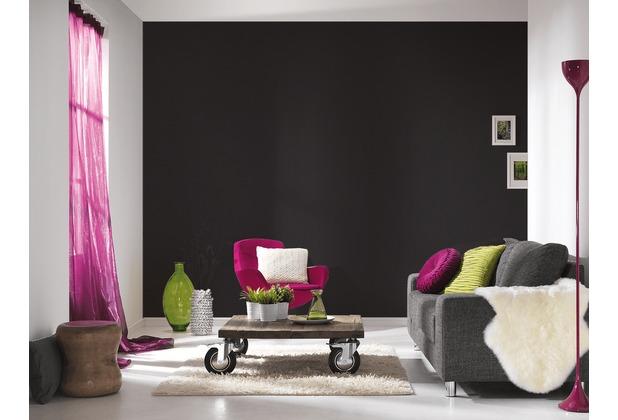 Livingwalls Vliestapete Metropolitan Stories Lola Paris Tapete Uni schwarz 369322 10,05 m x 0,53 m
