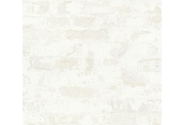 Livingwalls Vliestapete Metropolitan Stories Paul Bergmann Berlin grau weiß 369294 10,05 m x 0,53 m