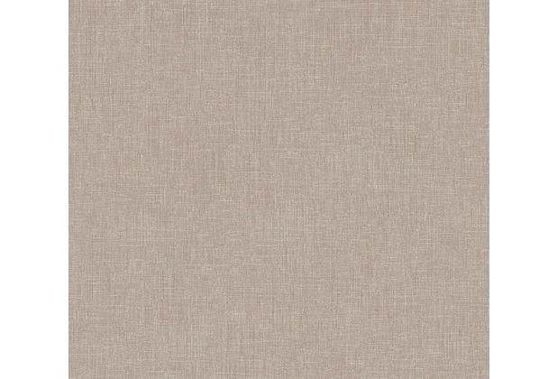Livingwalls Vliestapete Metropolitan Stories Tapete Uni beige grau 369224 10,05 m x 0,53 m