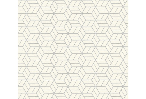 Livingwalls Vliestapete mit Glitter Metropolitan Stories Lizzy London grau metallic weiß 369203 10,05 m x 0,53 m