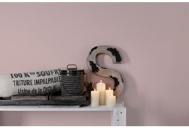 Livingwalls Vliestapete mit Glitter Metropolitan Stories Lola Paris Tapete geometrisch grafisch rosa lila 368971 10,05 m x 0,53 m