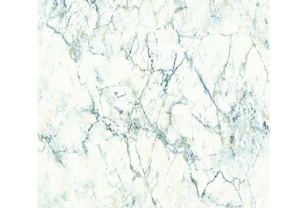 Livingwalls Vliestapete Neue Bude 2.0 Tapete in Marmor Optik weiß schwarz grau 361571 10,05 m x 0,53 m