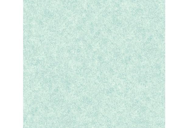 Livingwalls Vliestapete Neue Bude 2.0 Unitapete grün blau 362077 10,05 m x 0,53 m