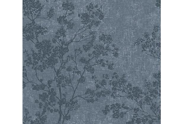Livingwalls Vliestapete New Walls Tapete Cosy & Relax in Ast Optik blau 373974 10,05 m x 0,53 m