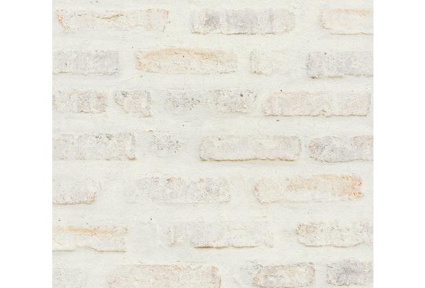 Livingwalls Vliestapete New Walls Tapete Loft Living rot weiß grau 374221 10,05 m x 0,53 m