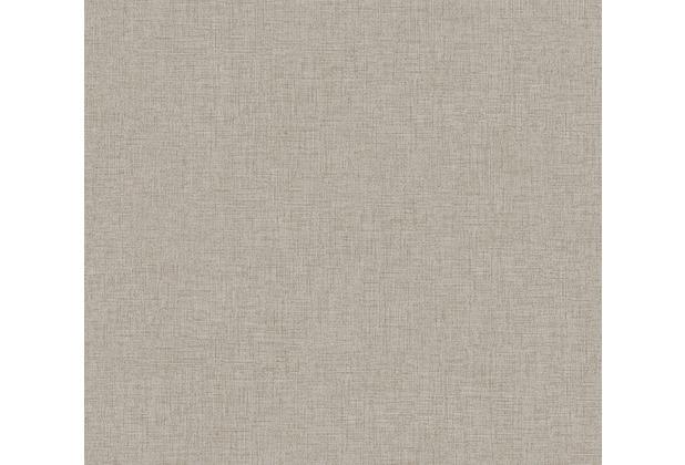 Livingwalls Vliestapete New Walls Tapete Uni grau beige 374308 10,05 m x 0,53 m