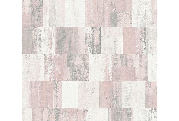 Livingwalls Vliestapete Titanium 2 Tapete creme metallic rosa 360021 10,05 m x 0,53 m
