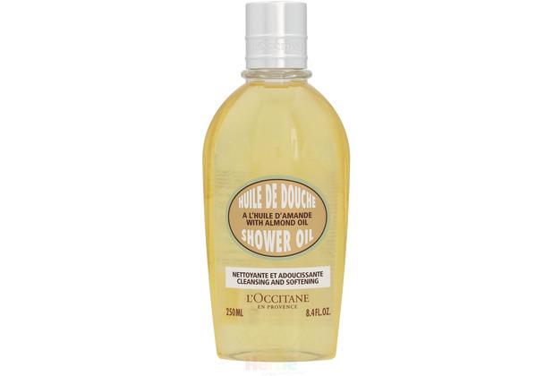 L\'Occitane Almond Cleansing & Softening Shower Oil - 250 ml