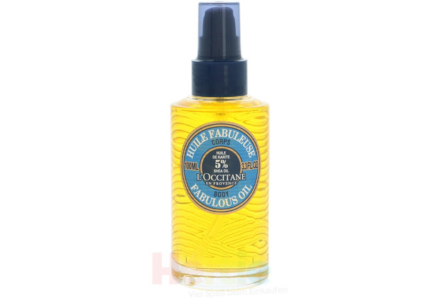 L\'Occitane Body Shower Gel Oil 5% Shea Oil 100 ml