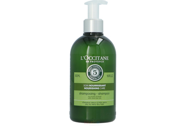 L\'Occitane Nourishing Care Shampoo Dry To Very Dry Hair With Dive Tree Oils 500 ml