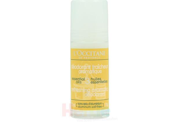 L\'Occitane Refreshing Aromatic Deodorant Aluminium Salt-Free, Aromatisch frisches Deodorant 50 ml