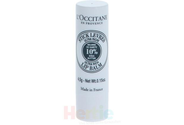 L\'Occitane Shea Butter Lip Balm Stick 4,50 gr
