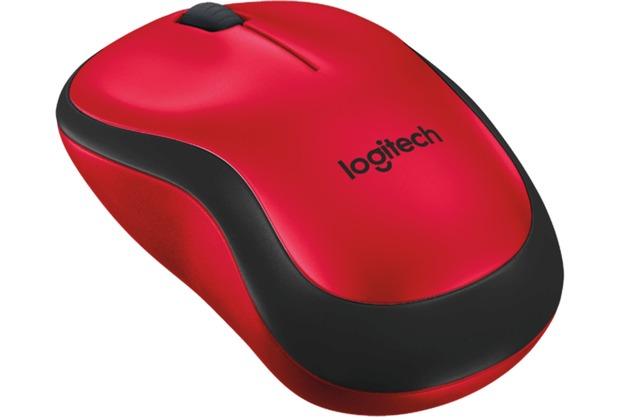 Logitech® M220 Silent Red - 2.4GHZ - EMEA