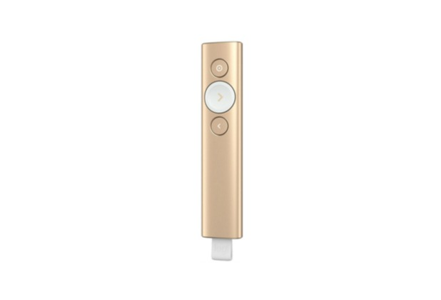 Logitech® Spotlight Presentation Remote - GOLD