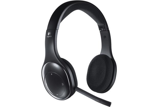 Logitech® Wireless Headset H800, schwarz