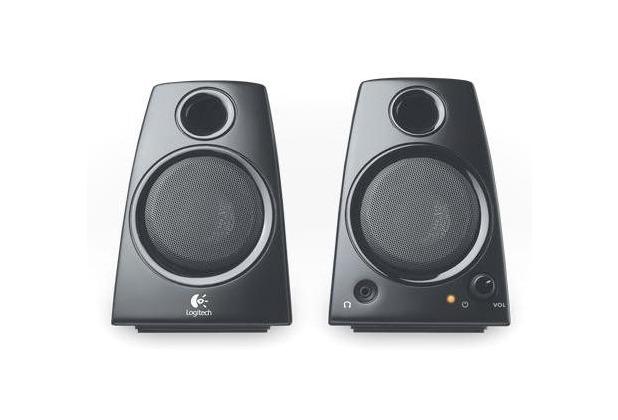Logitech® Z130, 2.0 Stereo Lautsprecher, 5 Watt, schwarz