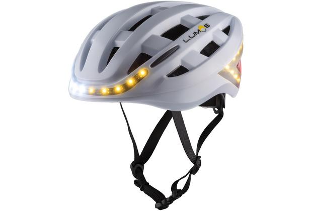 Lumos Lumos Kickstart Helmet Pearl White 20