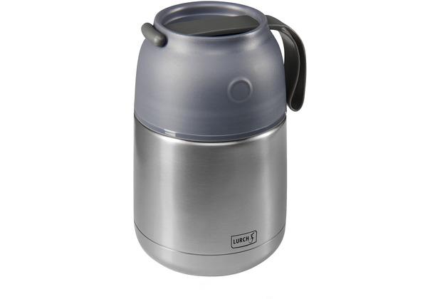 Lurch Isolier-Speisegefäß 480ml grau-metallic Thermo-Pot Lunchbox Edelstahl
