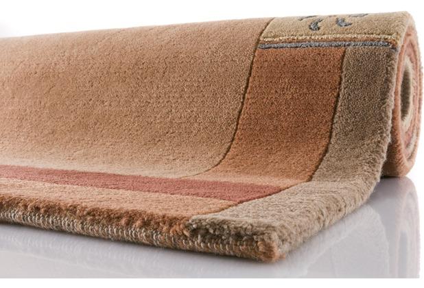 luxor living nepal teppich manali 101 terra. Black Bedroom Furniture Sets. Home Design Ideas
